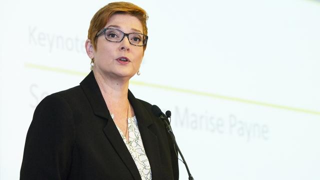 Minister Marise Payne