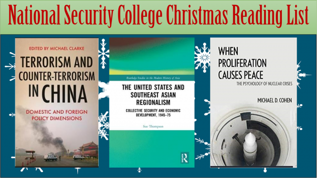 The 2018 National Security College Christmas Reading List