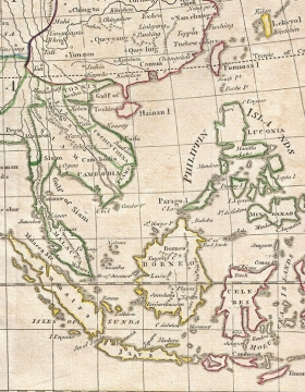 Geographicus Asia by Clement Cruttwell, 1799 (crop)