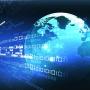 Cyberspace globe