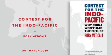 BOOK LAUNCH: Contest for the Indo-Pacific