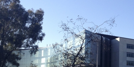 New ASIO headquarters, Canley on Wikimedia (cropped)