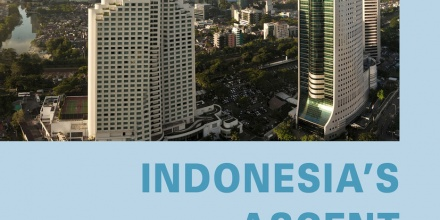 Book cover: Indonesia's Ascent