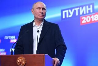 Vladimir Putin election victory speech