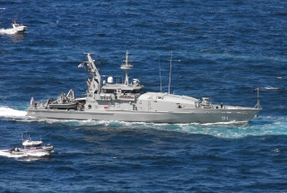 Royal Australian Navy boat