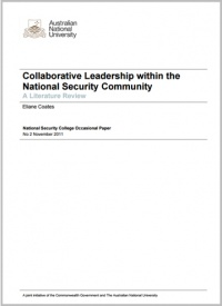 Collaborative Leadership within the National Security Community