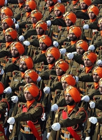 Indian Army Sikh Light Infantry regiment