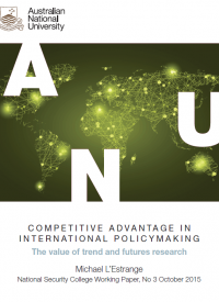 Competitive advantage in international policymaking