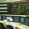 Picture of nuclear power plant control room
