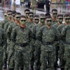Chinese special operations forces team line up at Chengkungling