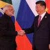Prime Minister Modi and President Xi Jinping